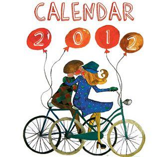 Calendar cu biciclete